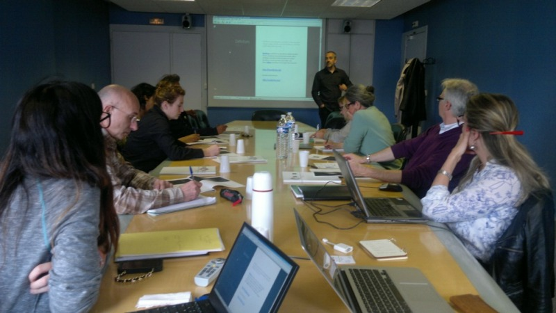 Atelier e-toursime dans les locaux de la CCI